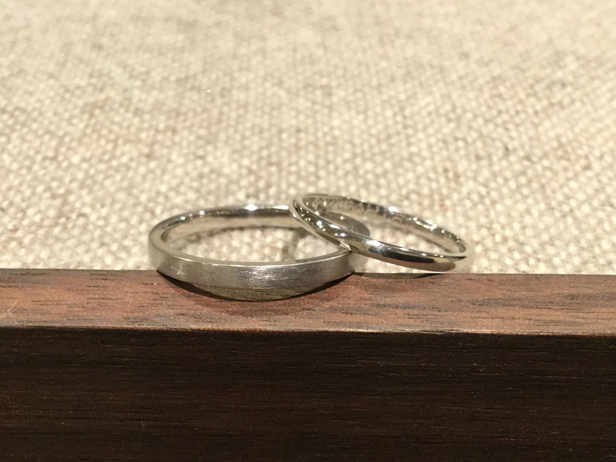 平打(2.0mm)・甲丸(1.5mm)