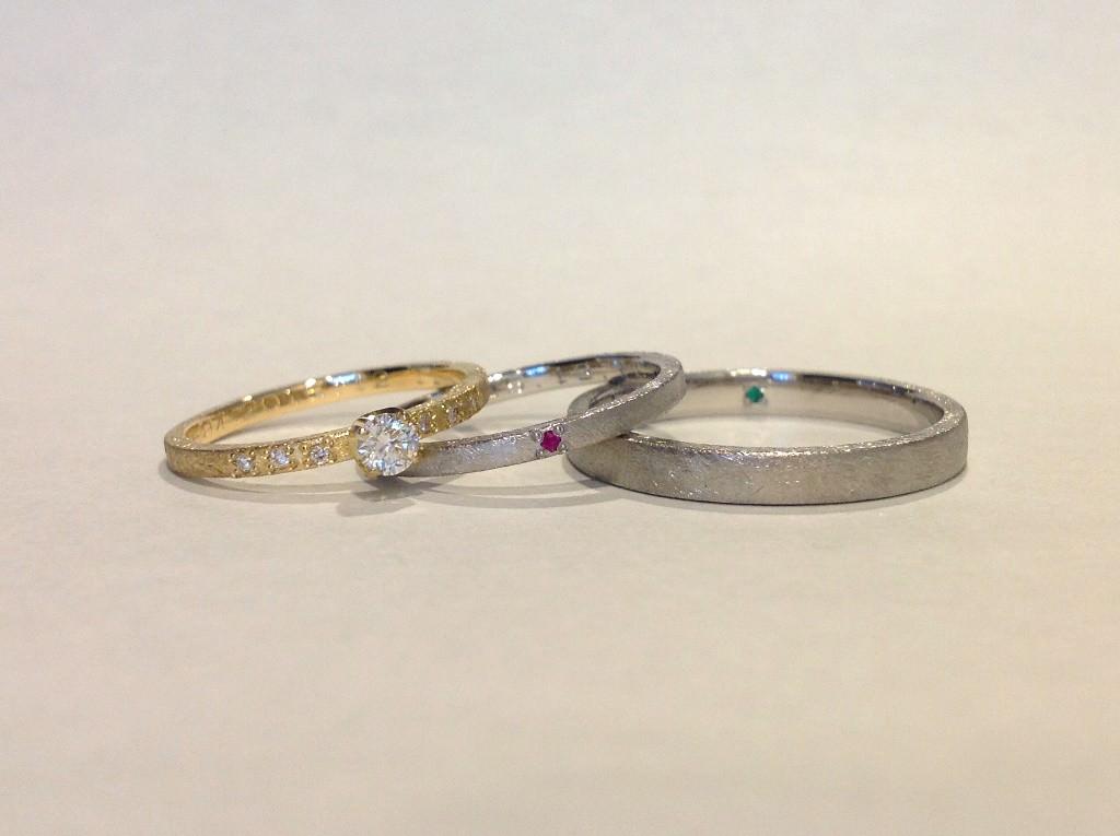 平打(2.5mm・1.5mm・婚約指輪1.5mm)