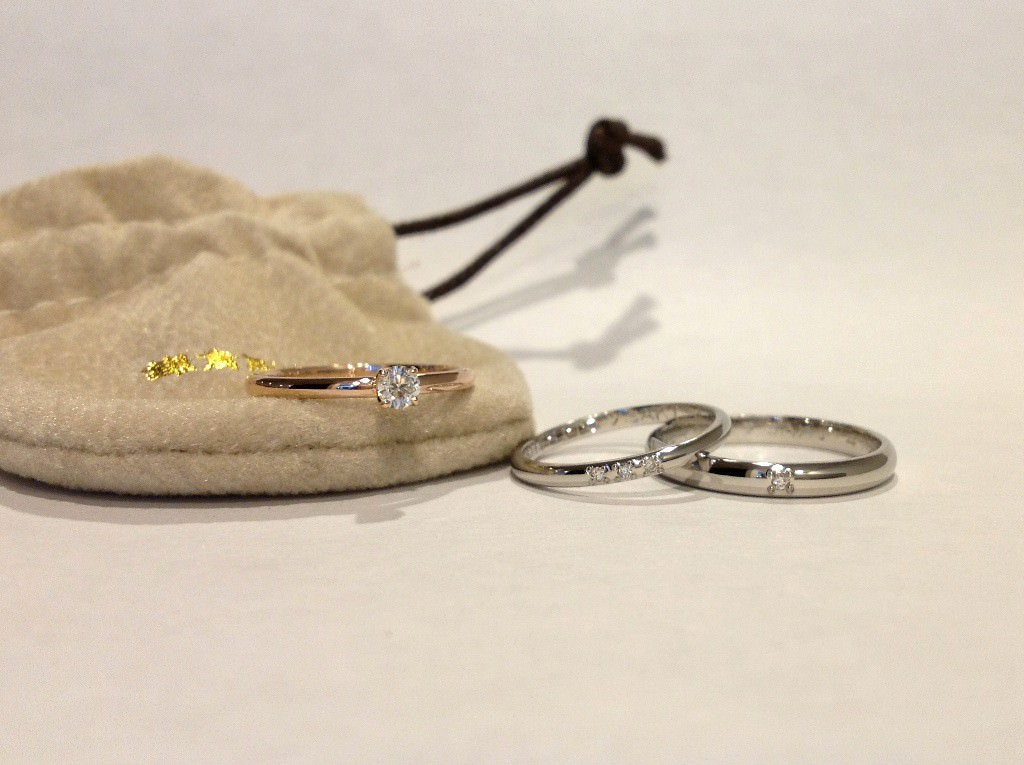 甲丸(2.5mm・1.5mm)・甲丸(婚約指輪1.5mm)